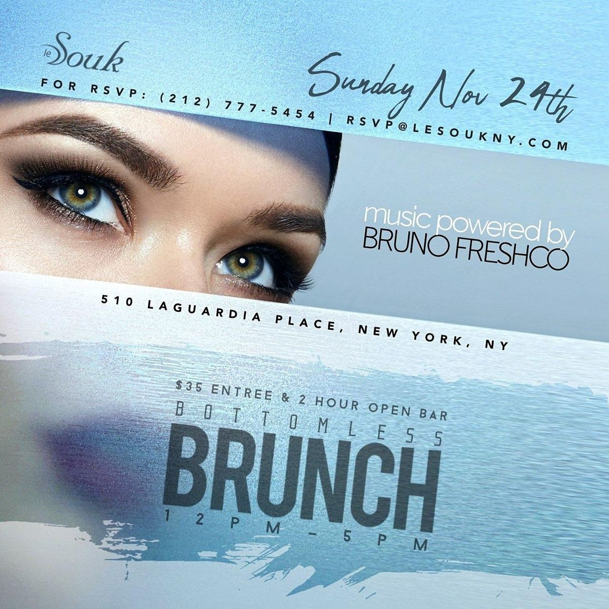 Le Souk Bottomless Brunch