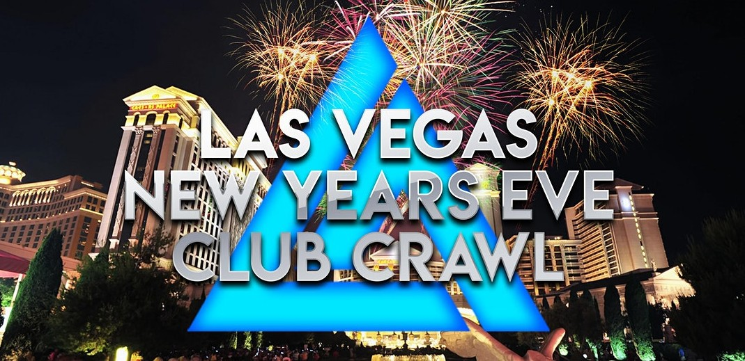 2021 Las Vegas New Years Eve Club Crawl
