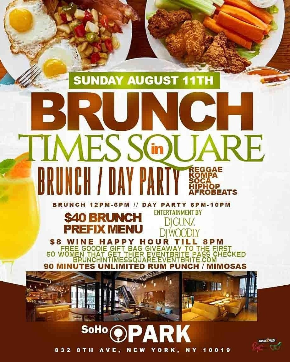Caribbean Brunch Sunday