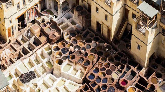 """""""المغرب من أعلى""""  رهافة البلاد الجميلة"""