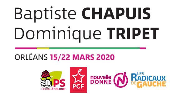 Élections Municipales Orléans : 15 et 22 mars 2020
