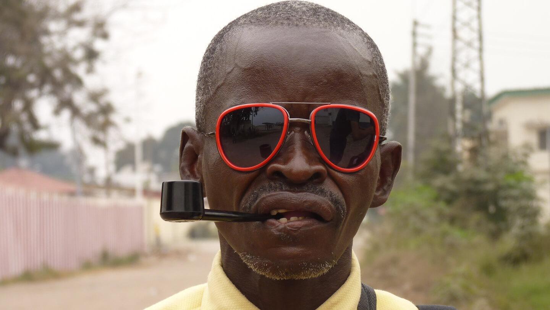 Portrait of Dimanche a Brazzaville