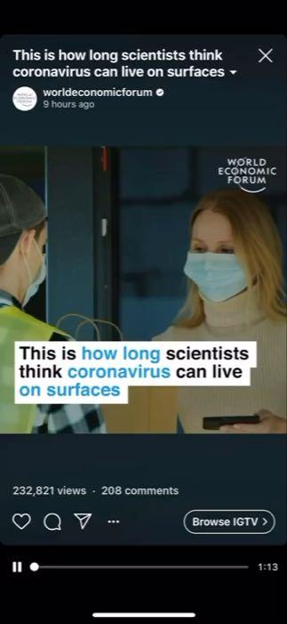 რამდენი ხნის განმავლობაში ცხოვრობს კორონავირუსი ზედაპირებზე - კვლევის შედეგები