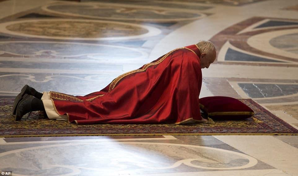 The pope. Photo of the day.