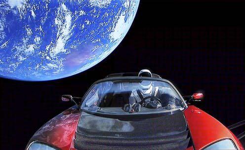 სად იმყოფება მასკის Tesla Roadster-ი კოსმოსში გაშვებიდან ორი წლისთავზე
