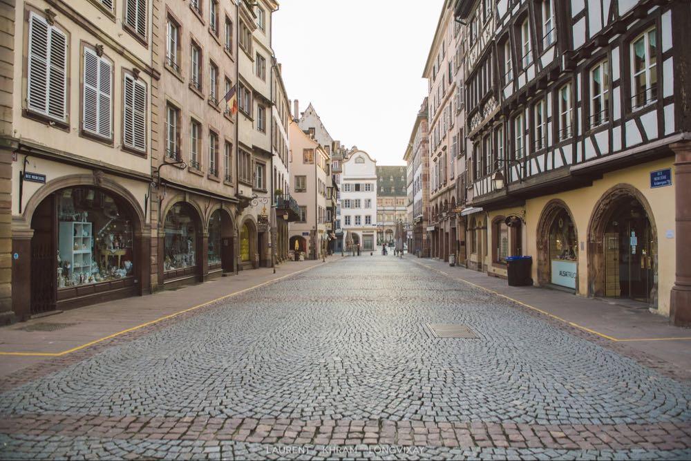 Strasbourg! დაცარიელდა ქუჩები  :( მესამე ფაზის პირველი დღე!