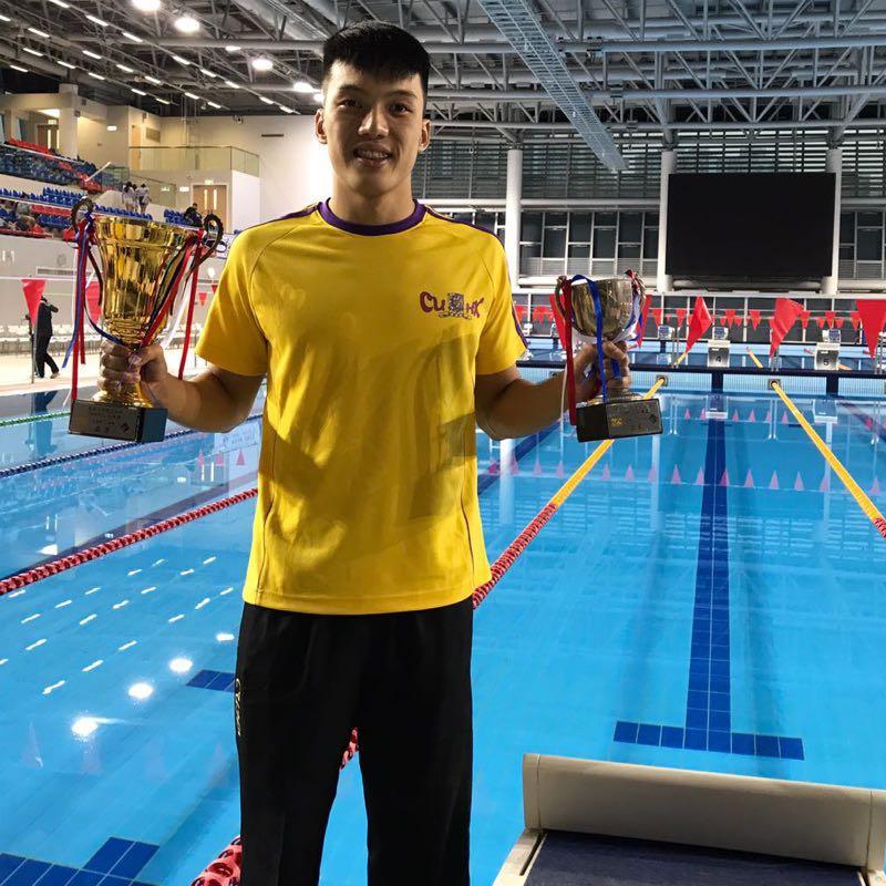 前香港代表隊游泳教練