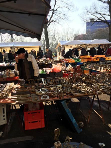 柏林-Berlin Trodelmarkt跳蚤市場
