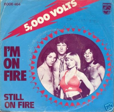 Cover I'm on fire
