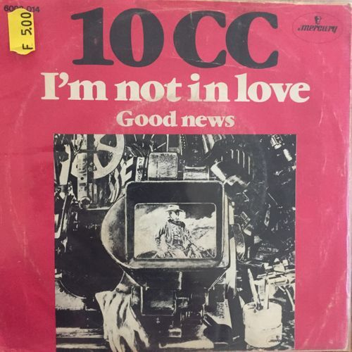 Cover I'm not in love