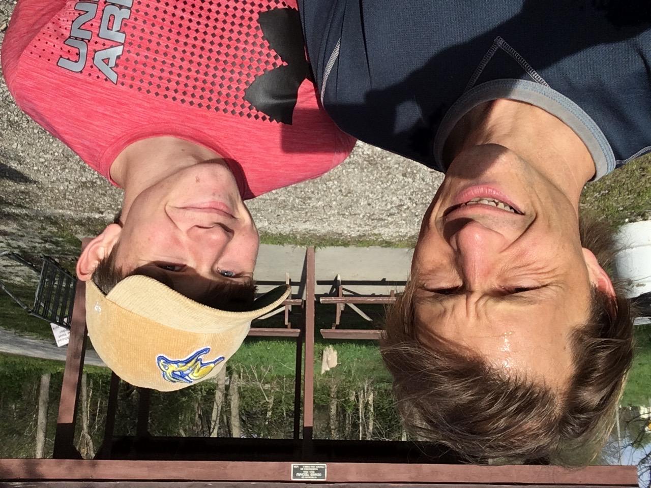 Luke and me at Mineola