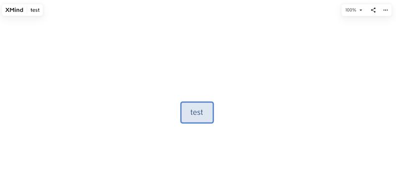 リンク先のXMind画面