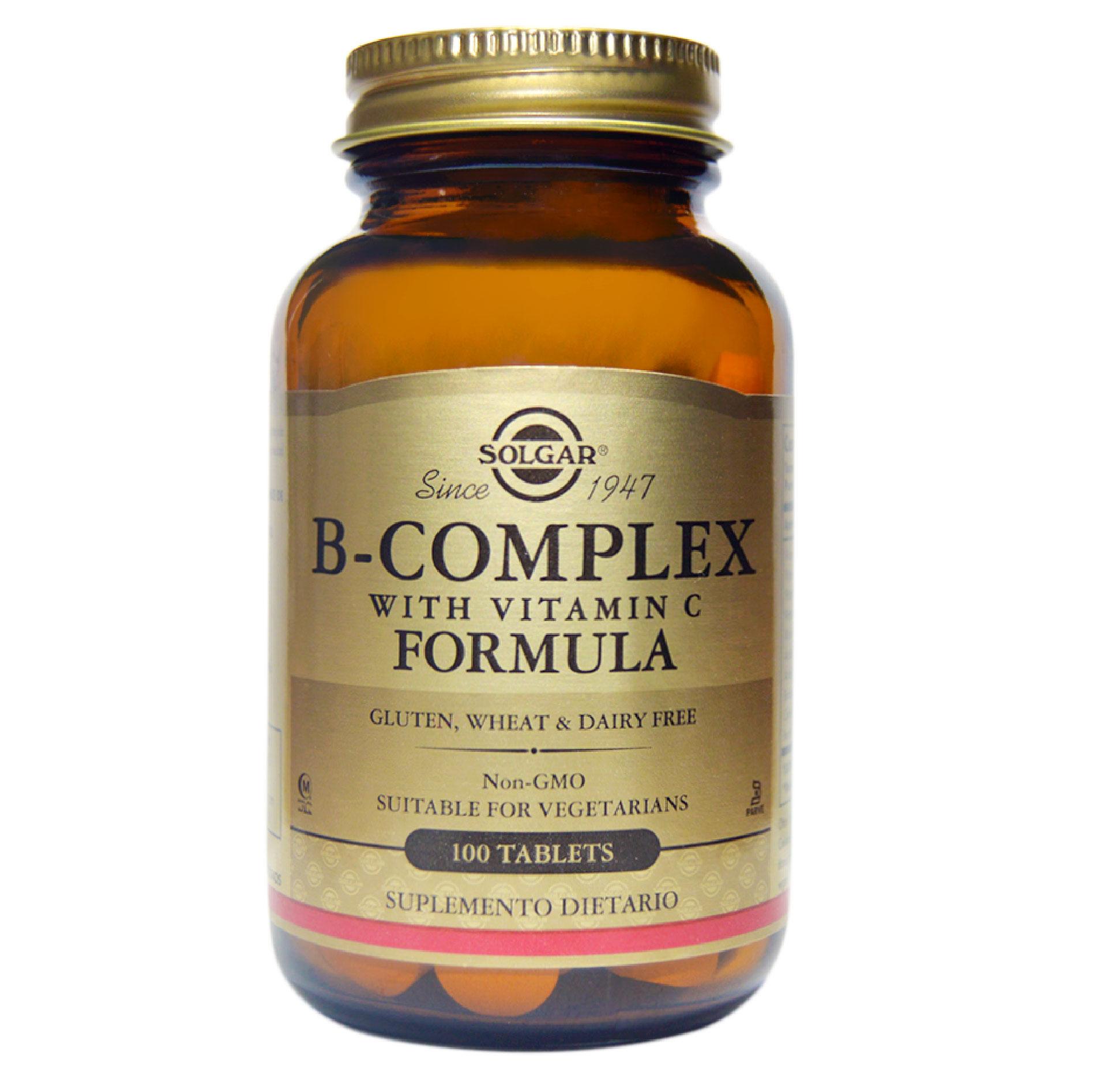 B-COMPLEX STRESS FORMULA 100 TAB
