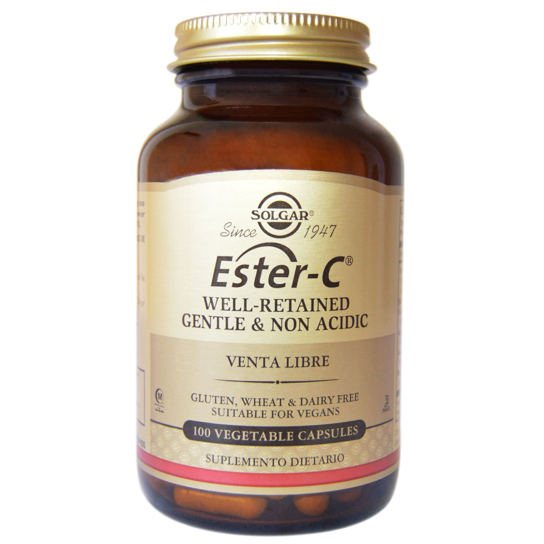 ESTER-C PLUS 500 MG 100 CAP