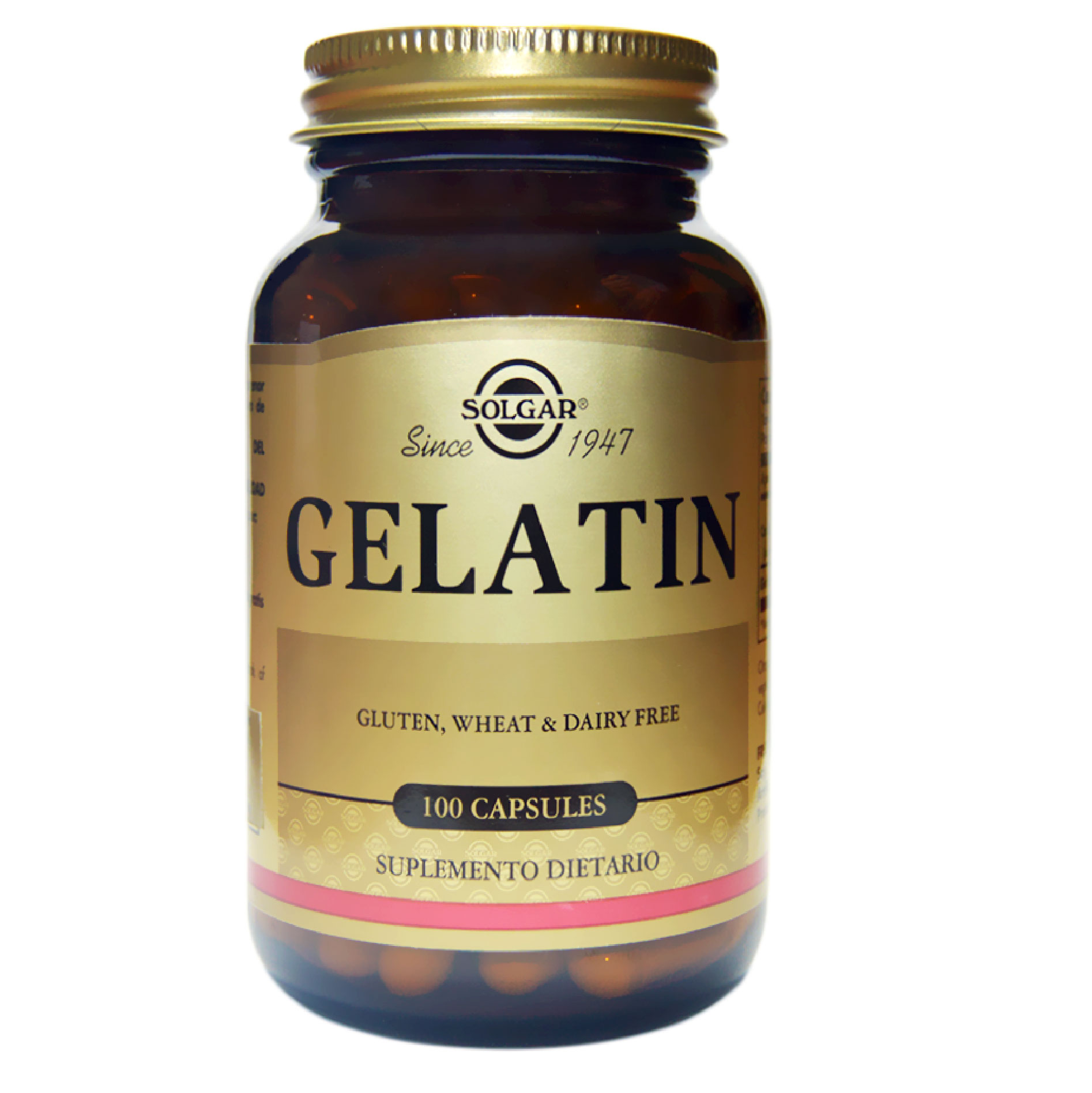 GELATIN WITH CALCIUM 100 CAP