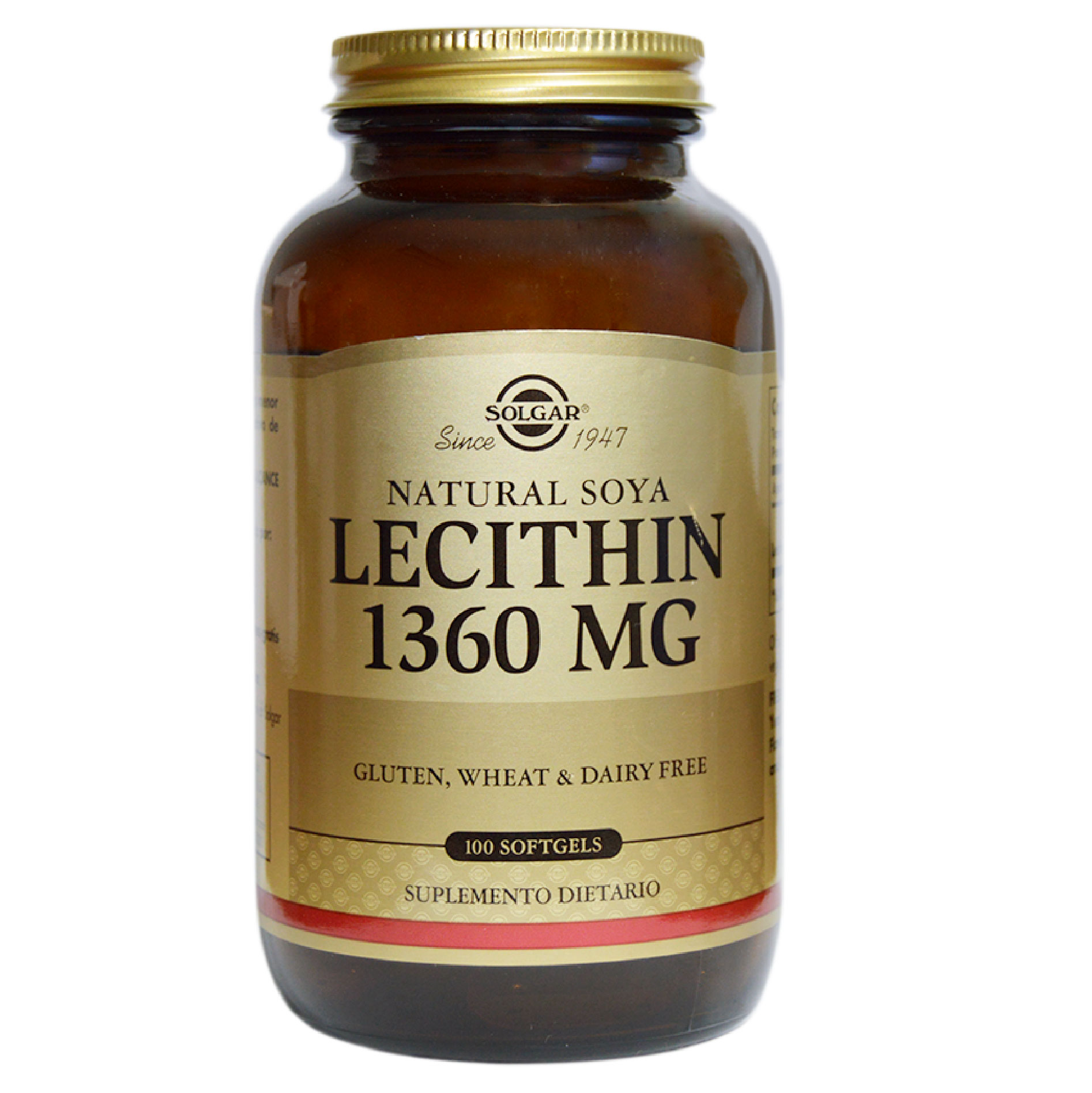 LECITHIN SOFTGELS 1360 MG 100 CAP