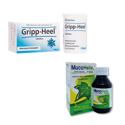 Gripp-Heel + Mucohelix 20% DCTO