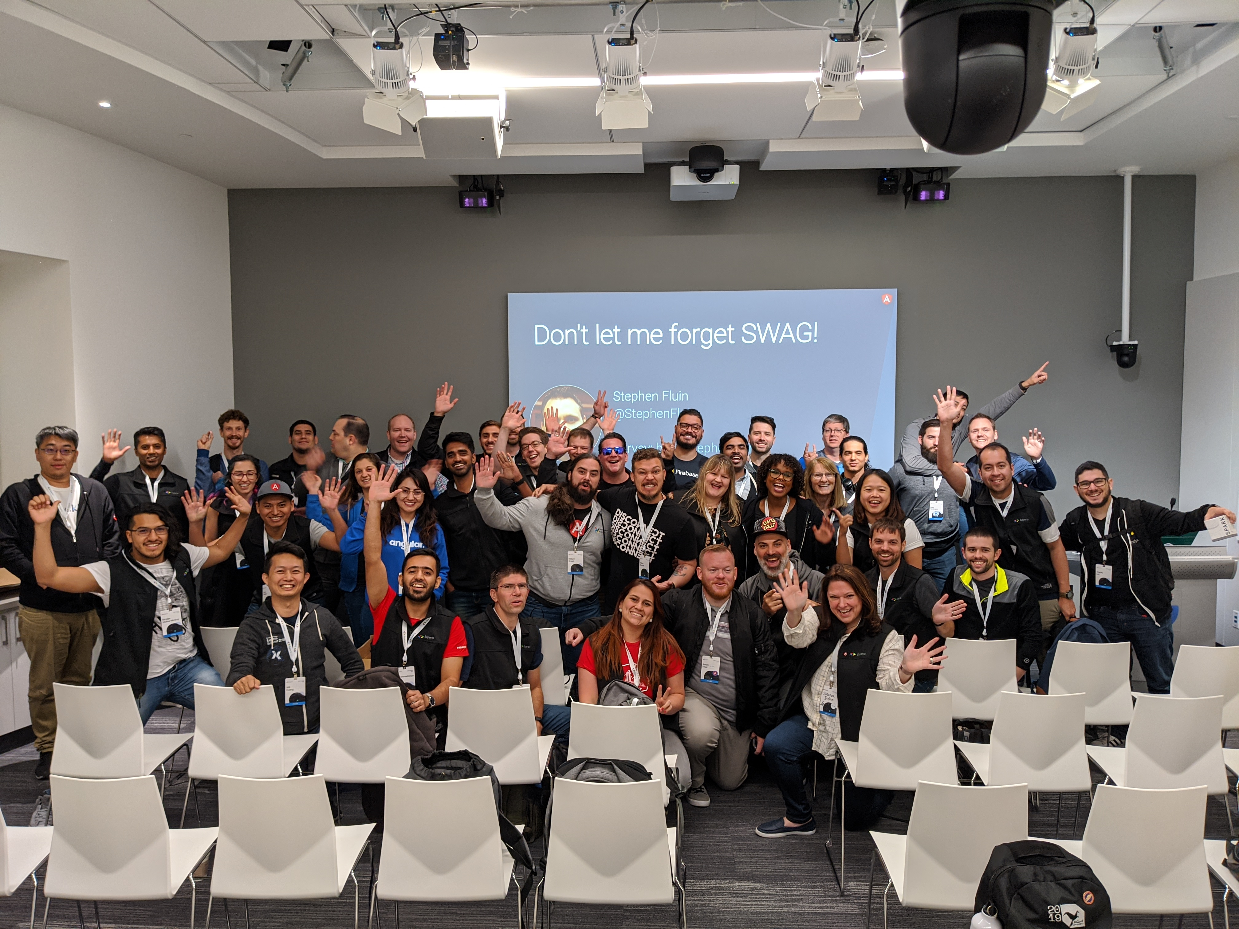 Angular GDEs hearing about the upcoming program updates