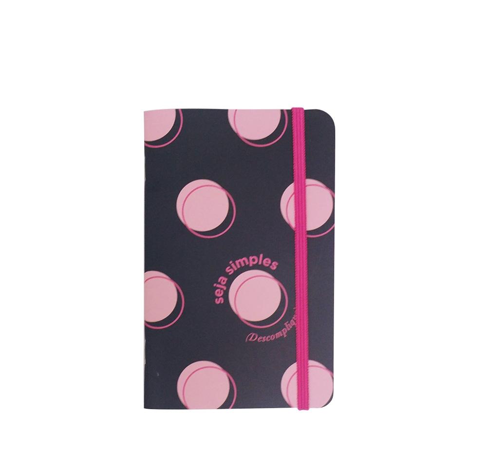 Moleskine (caderneta com elástico)