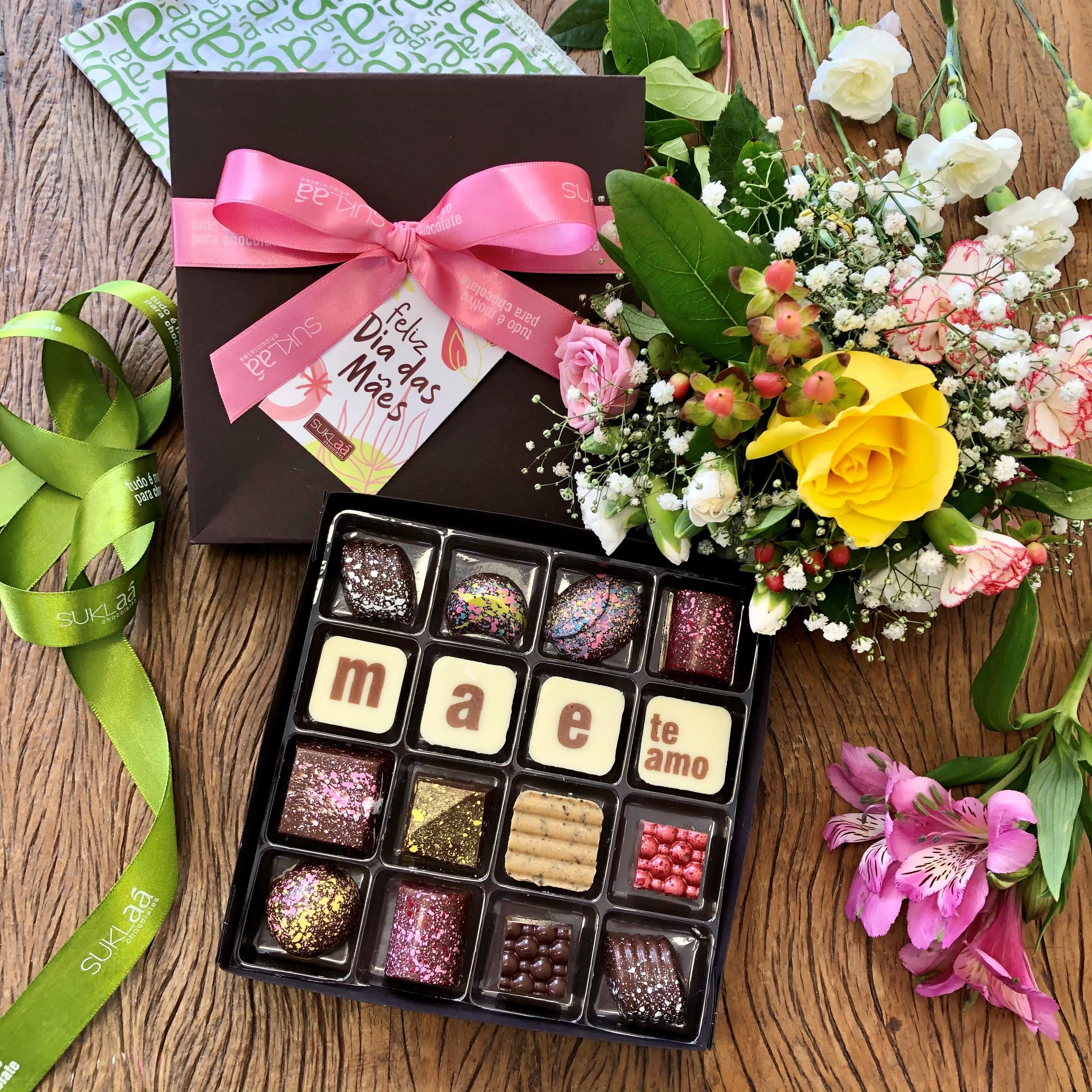 Chocolab 16 bombons - Dia das Mães