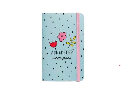 Caderneta agradecer sempre!