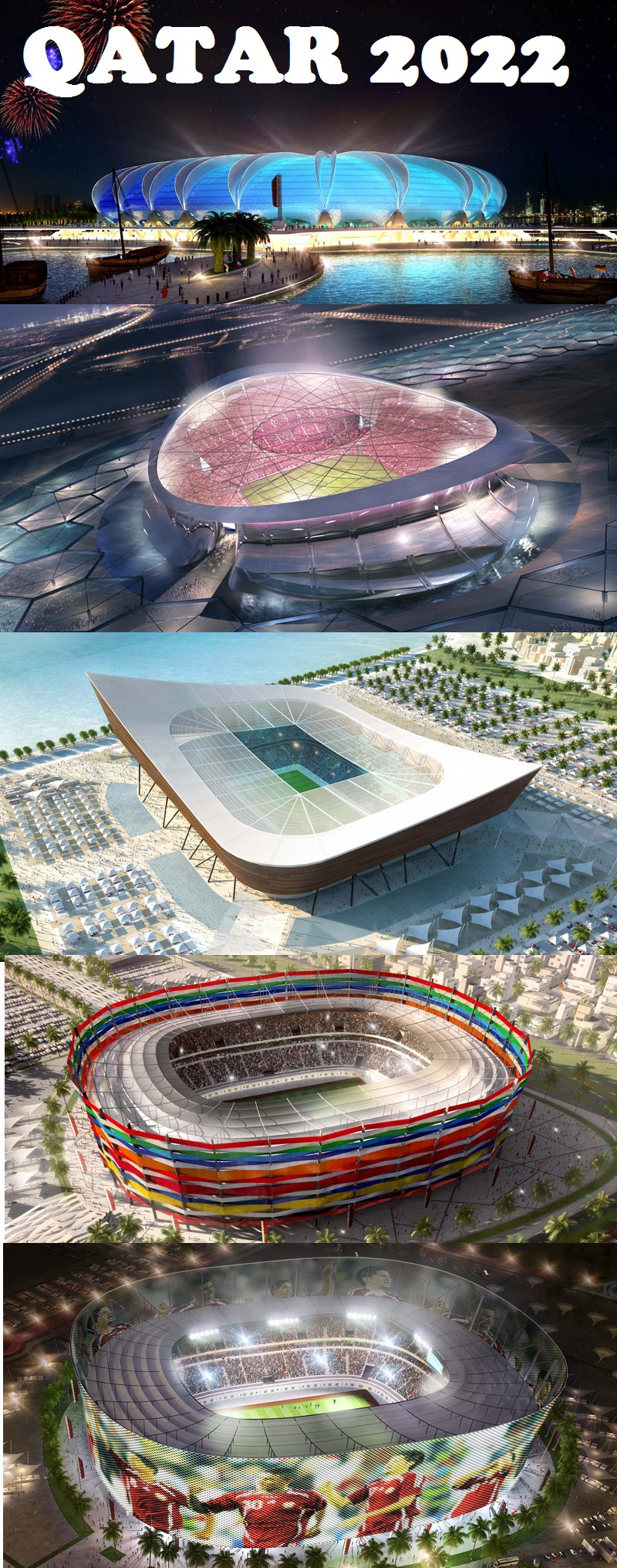 World Cup - Qatar 2022 Host stadium