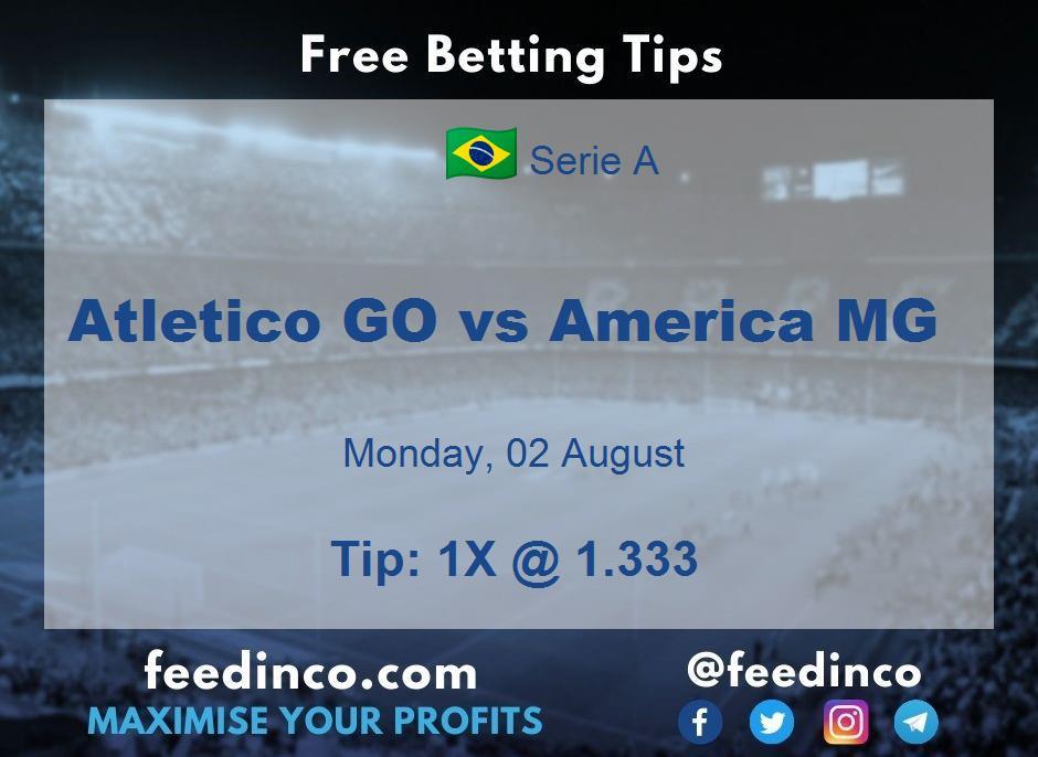 Atletico GO vs America MG Prediction