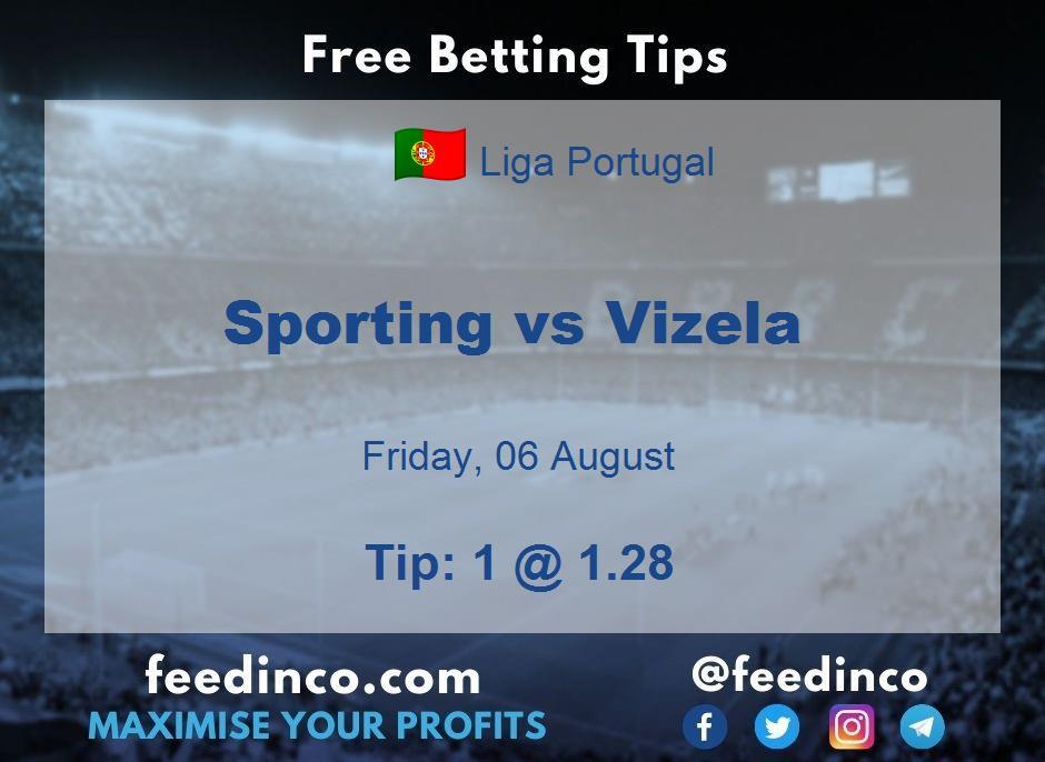 Sporting vs Vizela Prediction
