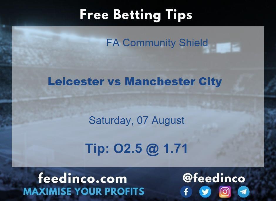 Leicester vs Manchester City Prediction