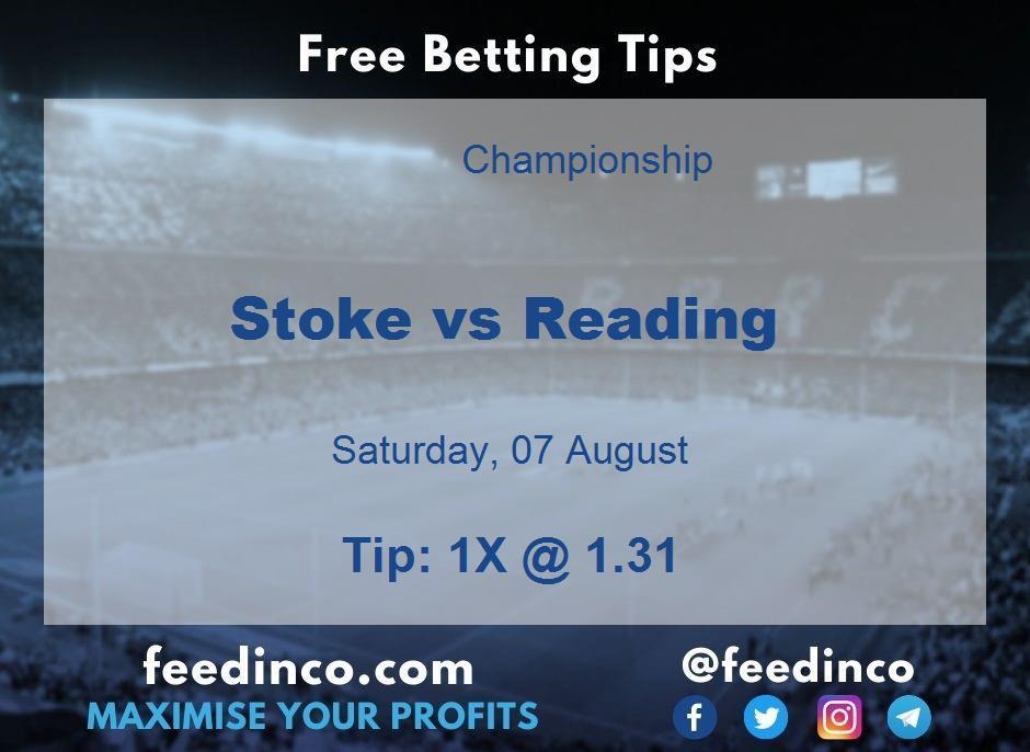 Stoke vs Reading Prediction