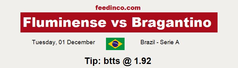 Fluminense v Bragantino Prediction