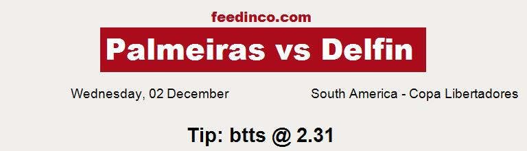 Palmeiras v Delfin Prediction