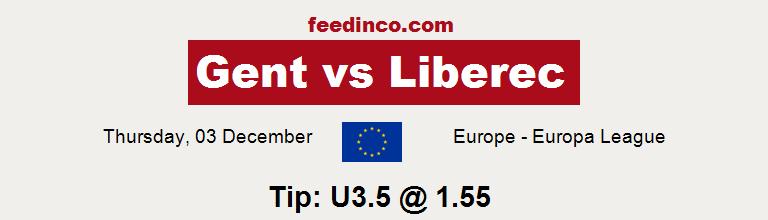 Gent v Liberec Prediction