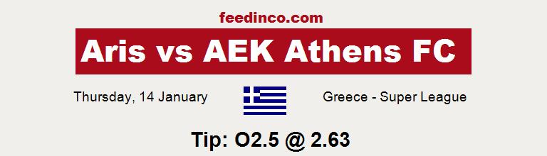 Aris v AEK Athens FC Prediction