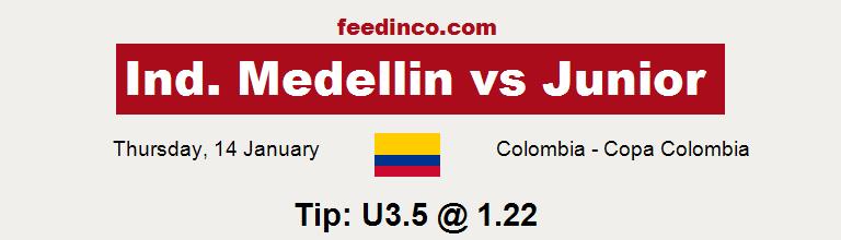 Ind. Medellin v Junior Prediction