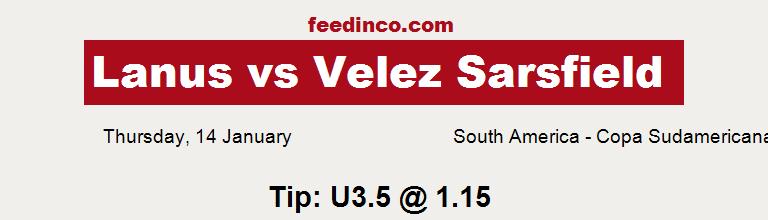 Lanus v Velez Sarsfield Prediction