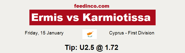 Ermis v Karmiotissa Prediction
