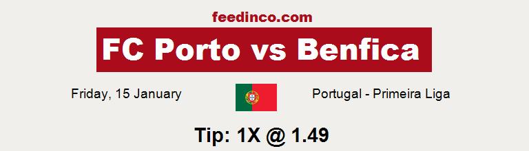 FC Porto v Benfica Prediction