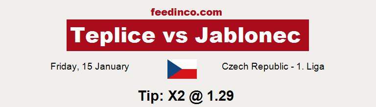 Teplice v Jablonec Prediction