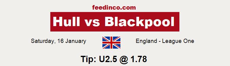 Hull v Blackpool Prediction