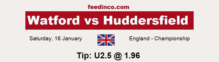 Watford v Huddersfield Prediction