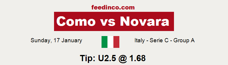 Como v Novara Prediction