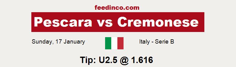 Pescara v Cremonese Prediction