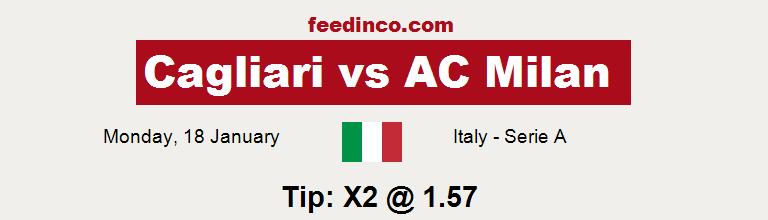 Cagliari v AC Milan Prediction