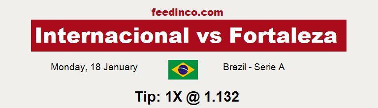 Internacional v Fortaleza Prediction