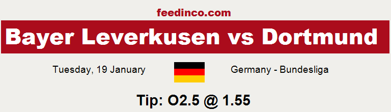 Bayer Leverkusen v Dortmund Prediction