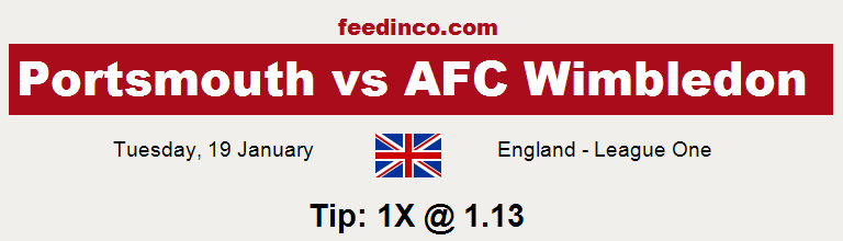 Portsmouth v AFC Wimbledon Prediction
