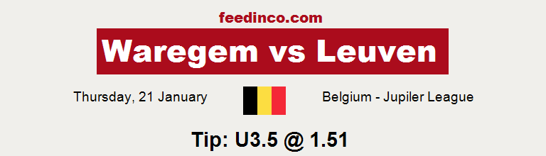 Waregem v Leuven Prediction