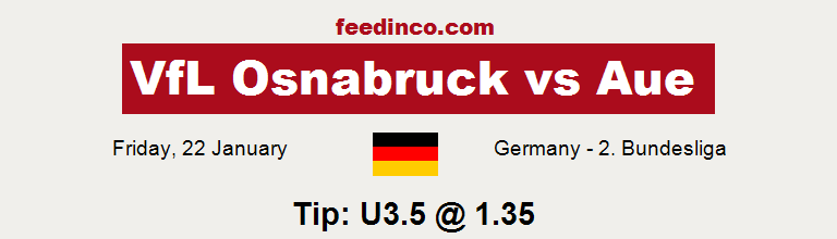 VfL Osnabruck v Aue Prediction