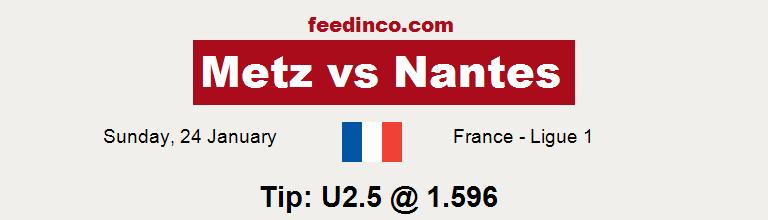 Metz v Nantes Prediction